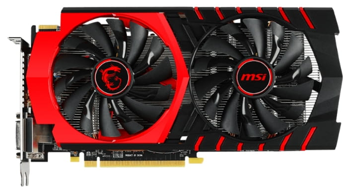 Buy video card MSI Radeon R7 370 1020Mhz PCI-E 3 0 4096Mb 5700Mhz