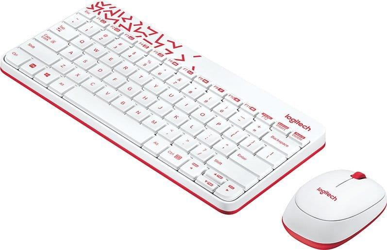 KIT Logitech Wireless Combo MK240 NANO / Keyboard + Mouse / USB /