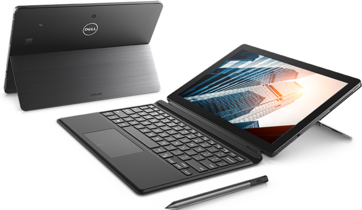 Laptop DELL Latitude 5285 / 12.3'' Touch WUXGA Gorilla Glass / i5-7200U / 8GB DDR4 / 256GB M.2 SSD / Active Pen / Travel keyboard / Windows 10 Professional / 272846478