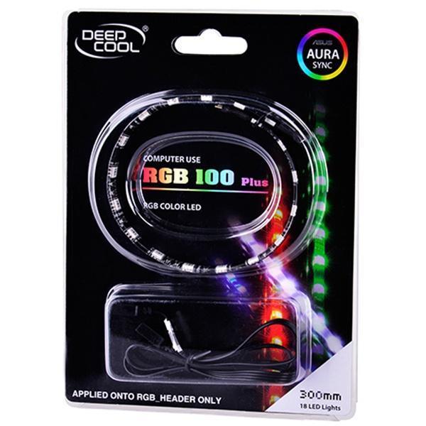 LED strips Deepcool XDC-RGB100 PLUS / RGB color LED strip / Software  control: ASUS Aura, MSI Mystic, Gigabyte Fusion /