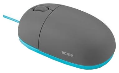 Mouse ACME MS11 / Cartoon / USB / Blue