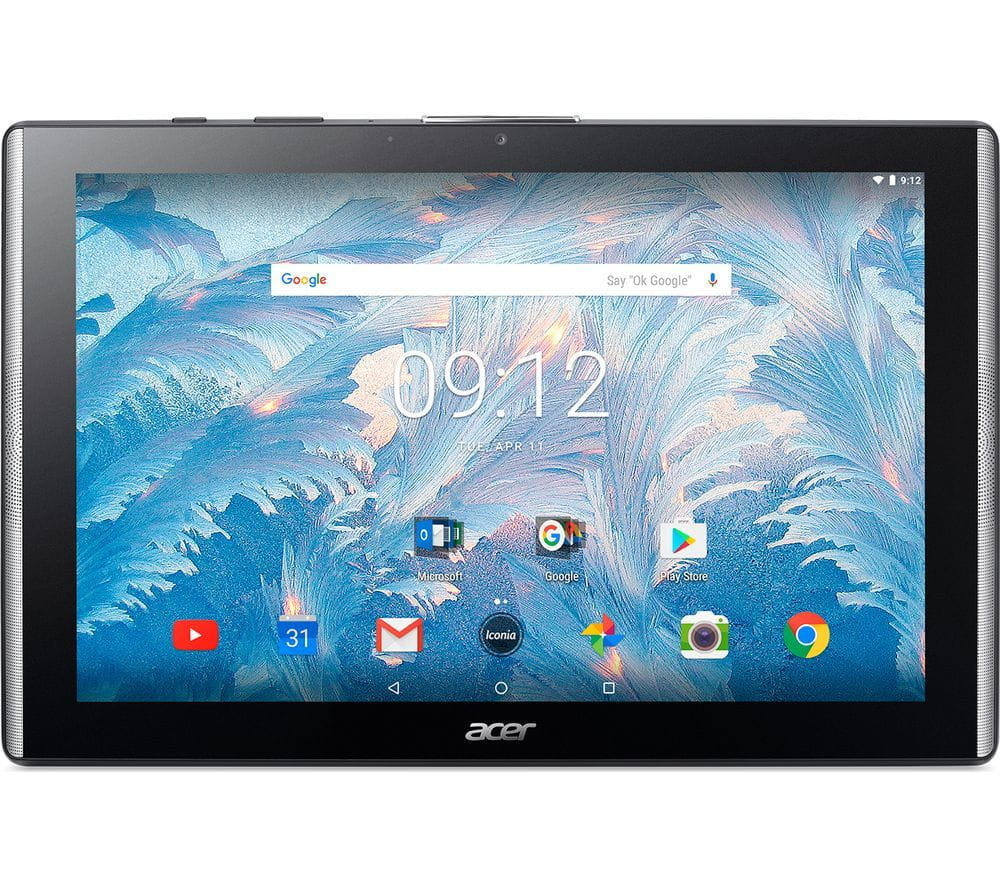 "Tablet Acer Iconia Tab B3-A40 / 10.1"" IPS FullHD / MT8167A / 2GB RAM / 32GB / GPS / 5MPx + 2MPx Cam / 6100mAh / Android 7.0 / Black"