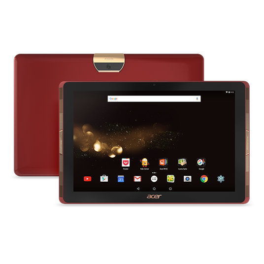 "Tablet Acer Iconia Tab A3-A40 / 10.1"" IPS FullHD / MT8163 / 2GB RAM / 32GB / GPS / 5MPx + 2MPx Cam / 6100mAh / Android 6.0 / Gold Red"