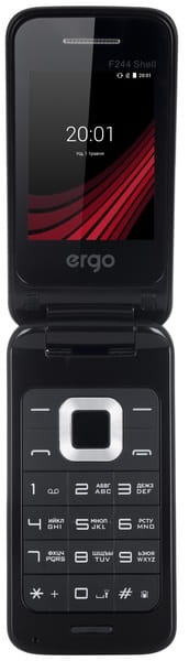 GSM Ergo F244 Shell / Black