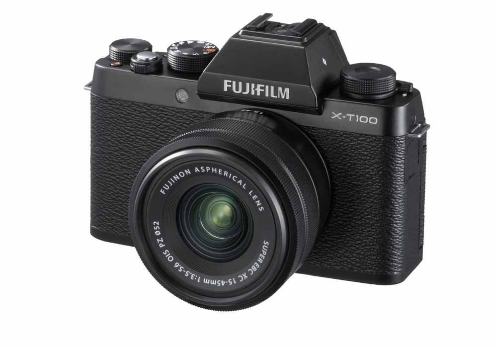 KIT Fujifilm X-T100 + XC15-45mm / F3.5-5.6 OIS PZ /