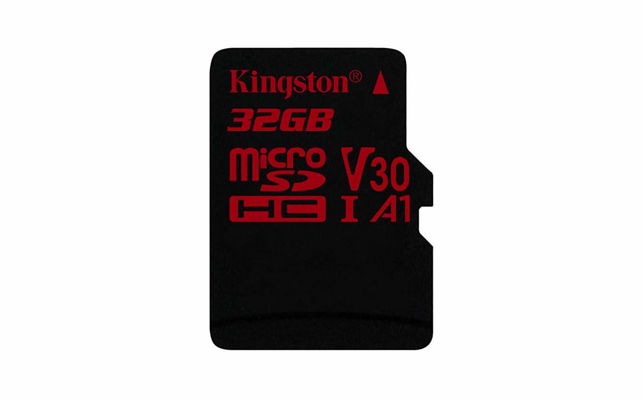 microSD Kingston Canvas React SDCR/32GB / 32GB / Ultimate 633x /