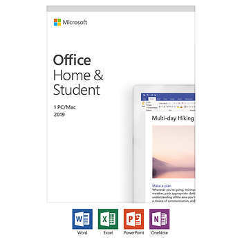 Microsoft Office Home and Student 2019 / English