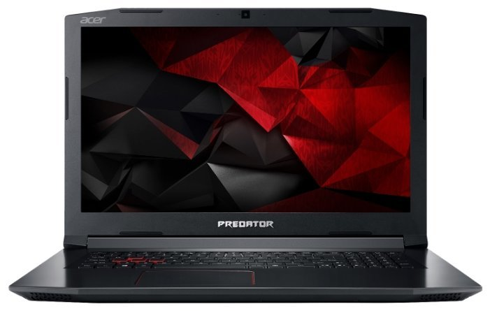 "Laptop ACER PREDATOR HELIOS PH317-52-71BU / 17.3"" FullHD IPS / i7-8750H / 16Gb DDR4 RAM / 256Gb SSD + 1.0TB HDD / GeForce GTX1060i 6Gb DDR5 / Linux / NH.Q3DEU.051 / Black"