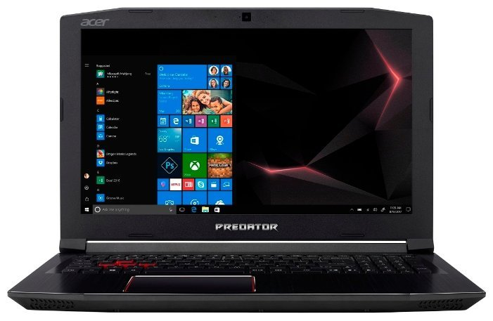 "Laptop Acer PREDATOR HELIOS PH315-51-72GQ / 15.6"" FullHD IPS / i7-8750H / 16Gb DDR4 RAM / 128Gb SSD + 1.0TB HDD / GeForce GTX1050 Ti 4Gb DDR5 / Linux / NH.Q3HEU.013 / Black"