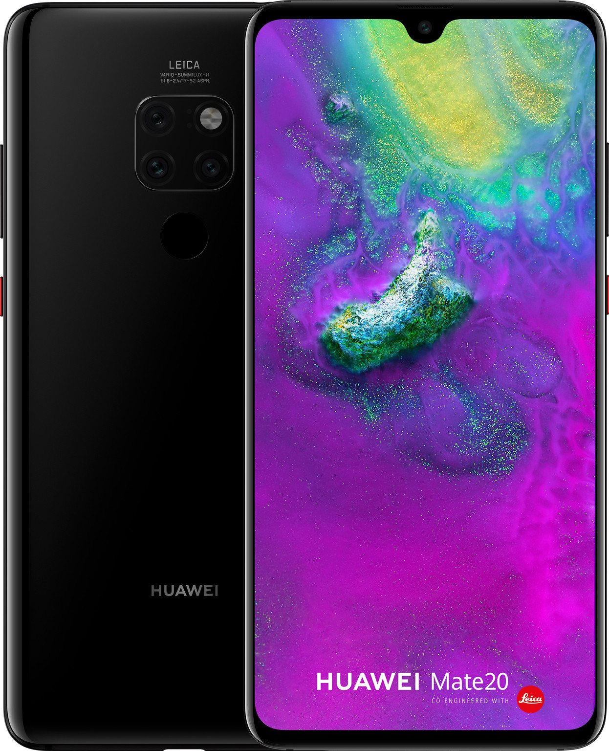 GSM Huawei Mate 20 / 6.53'' IPS LCD / Kirin 980 / Mali-G76 MP10 / Triple Camera / 4000mAh / Android 9.0 / Black