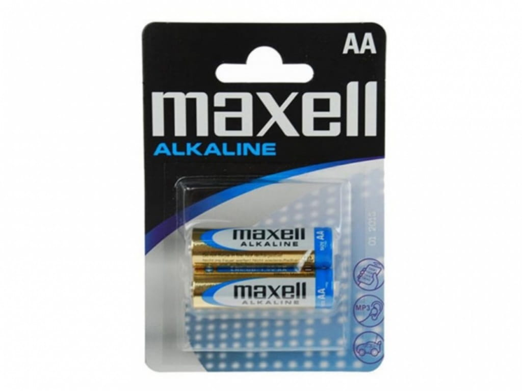 MAXELL Alcaline Battery LR6/AA / 2pcs / MX_790321.04.CN