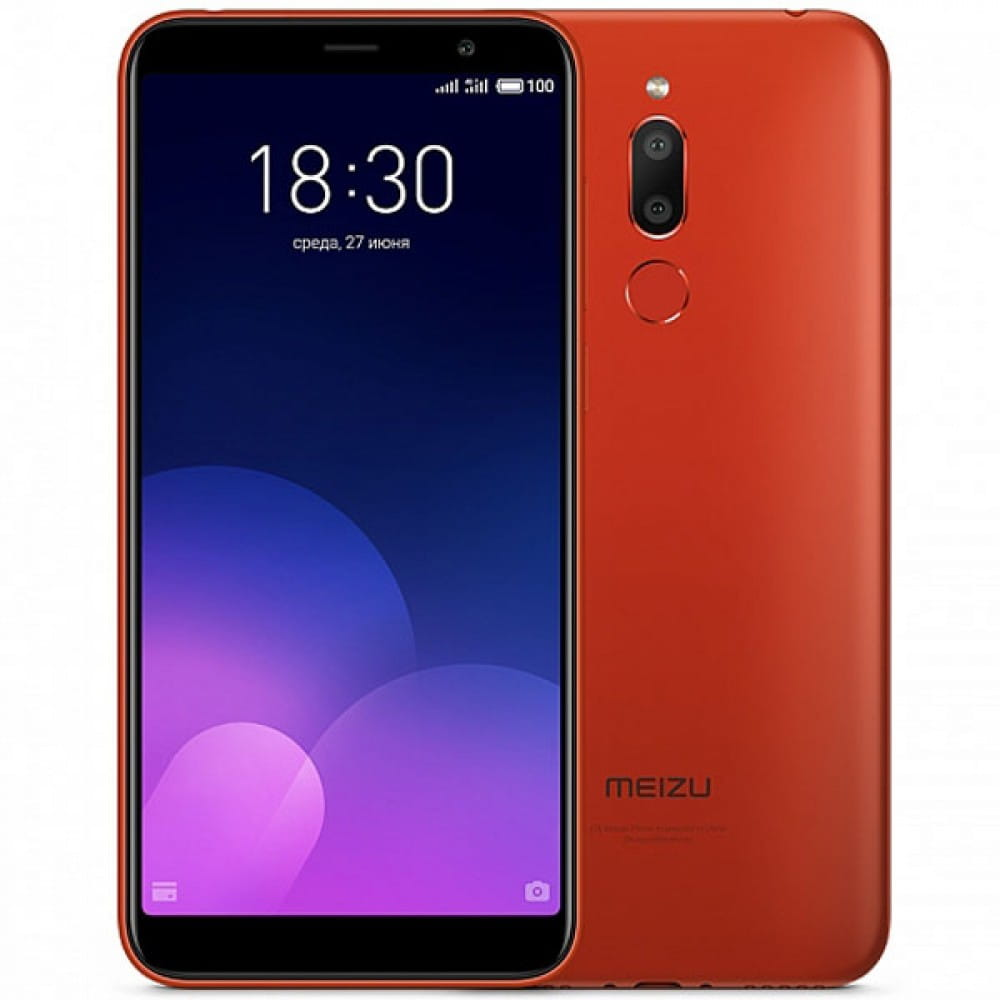 "GSM Meizu M6T / 5.7"" / 2Gb / 16Gb / 3300mAh / Red"