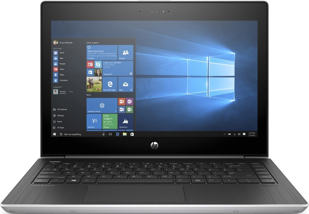 "Laptop HP ProBook 430 / 13.3"" FullHD / Intel Core i7-8550U / 8GB DDR4 / 256GB SSD + 1.0TB HDD / Intel UHD Graphics 620 / Windows 10 Professional / 3BZ81EA#ACB / Silver"