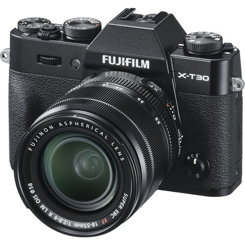 Camera Kit Fujifilm X-T30 / XF 18-55mm / Black