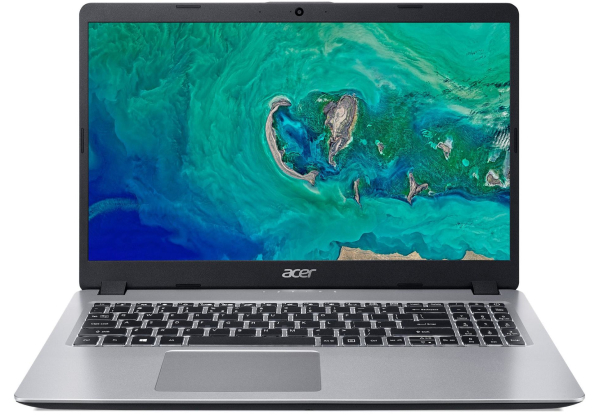 "Laptop Acer Aspire A515-52G-5822 / 15.6"" FullHD / i5-8265U / 8Gb DDR4 / 256GB SSD / GeForce MX150 2Gb DDR5 / Linux / NX.H5REU.030 / Silver"