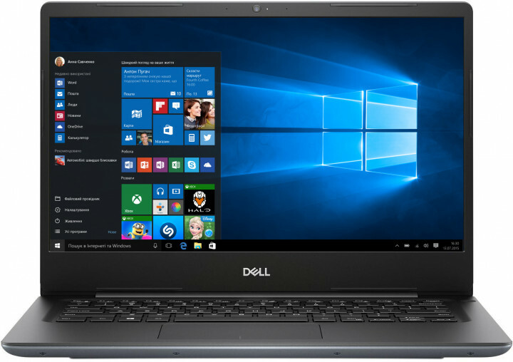 Laptop DELL Vostro 14 5481 / 14.0'' IPS FulHD / i7-8565U / 8GB DDR4 RAM / 128GB SSD + 1.0TB HDD / NVIDIA GeForce MX130 2GB DDR5 Graphics / Grey / Linux/DOS