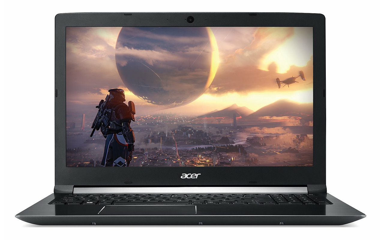 "Laptop Acer Aspire A715-72G / 15.6"" FullHD / i5-8300H / 16Gb DDR4 RAM / 128GB SSD + 1.0TB HDD / GeForce GTX 1050Ti 4Gb DDR5 / Linux / A715-72G-548S / NH.GXCEU.010 /"