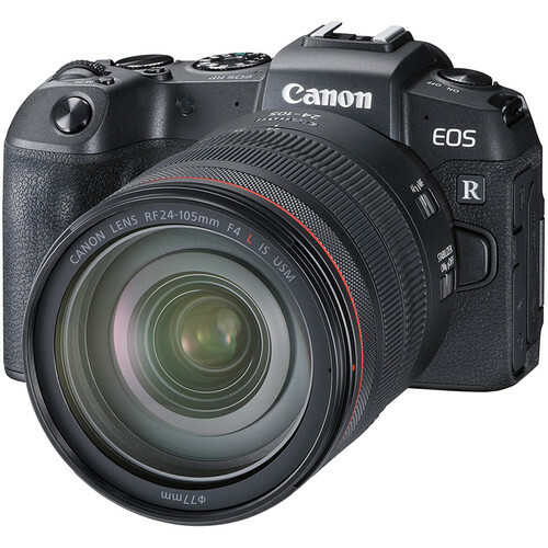 Camera Canon EOS RP RF24-105 L + MT ADP RUK/SEE