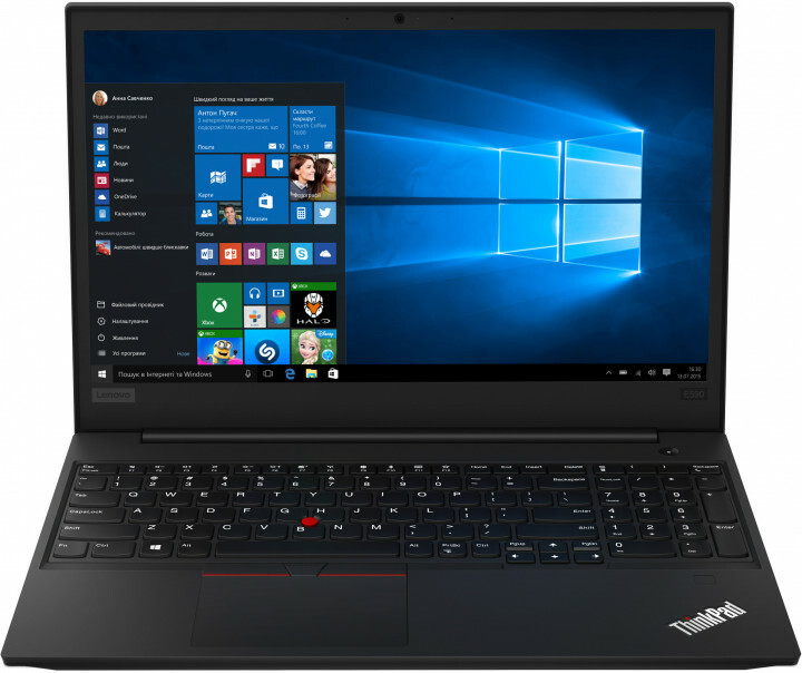 "Laptop Lenovo ThinkPad E590 / 15.6"" IPS FullHD / Intel Core i5-8265U / 8Gb RAM / 512Gb SSD / Intel UHD Graphics / Windows 10 Professional / Black"