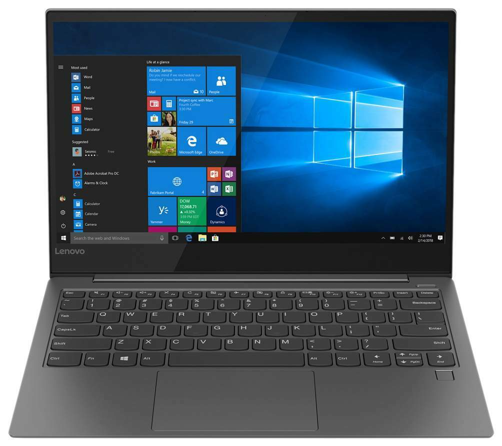 "Lenovo IdeaPad Yoga 730-13IWL / 13.3"" FullHD IPS MultiTouch / Intel Core i5-8265U / 8Gb DDR4 / 256GB SSD / Intel UHD Graphics 620 / Windows 10 Home / 81J000A7RU /"