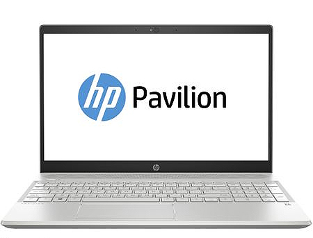 "HP Pavilion 15-CS1067 / 15.6"" FullHD IPS micro-edge / QuadCore i7-8565U / 12GB DDR4 / 256GB NVMe SSD / Windows 10 Home / Silver"