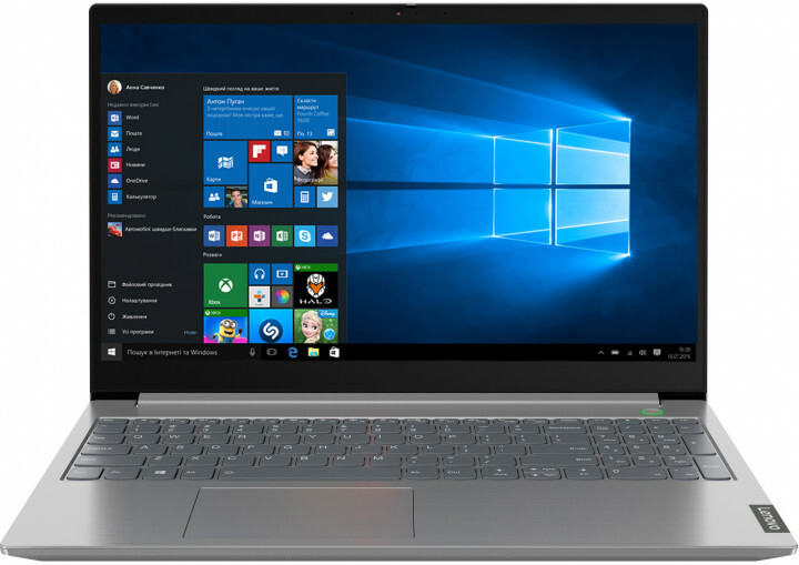 "Lenovo ThinkBook 15-IML / 15.6"" FullHD / Intel Core i7-10510U / 16Gb RAM / 512Gb SSD / Intel UHD Graphics / Windows 10 Pro / Grey"