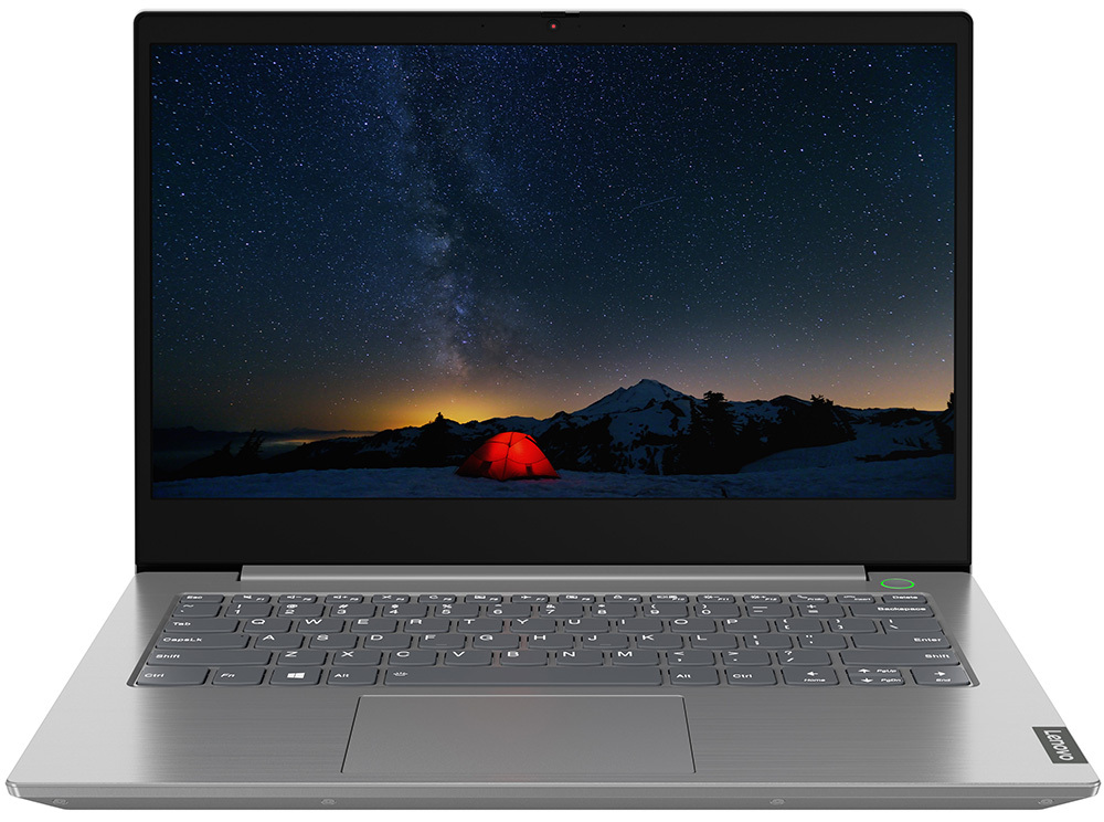 "Lenovo ThinkBook 14-IIL / 14.0"" WVA FullHD / Intel Core i7-1065G7 / 8Gb RAM / 512Gb SSD / No OS / Grey"