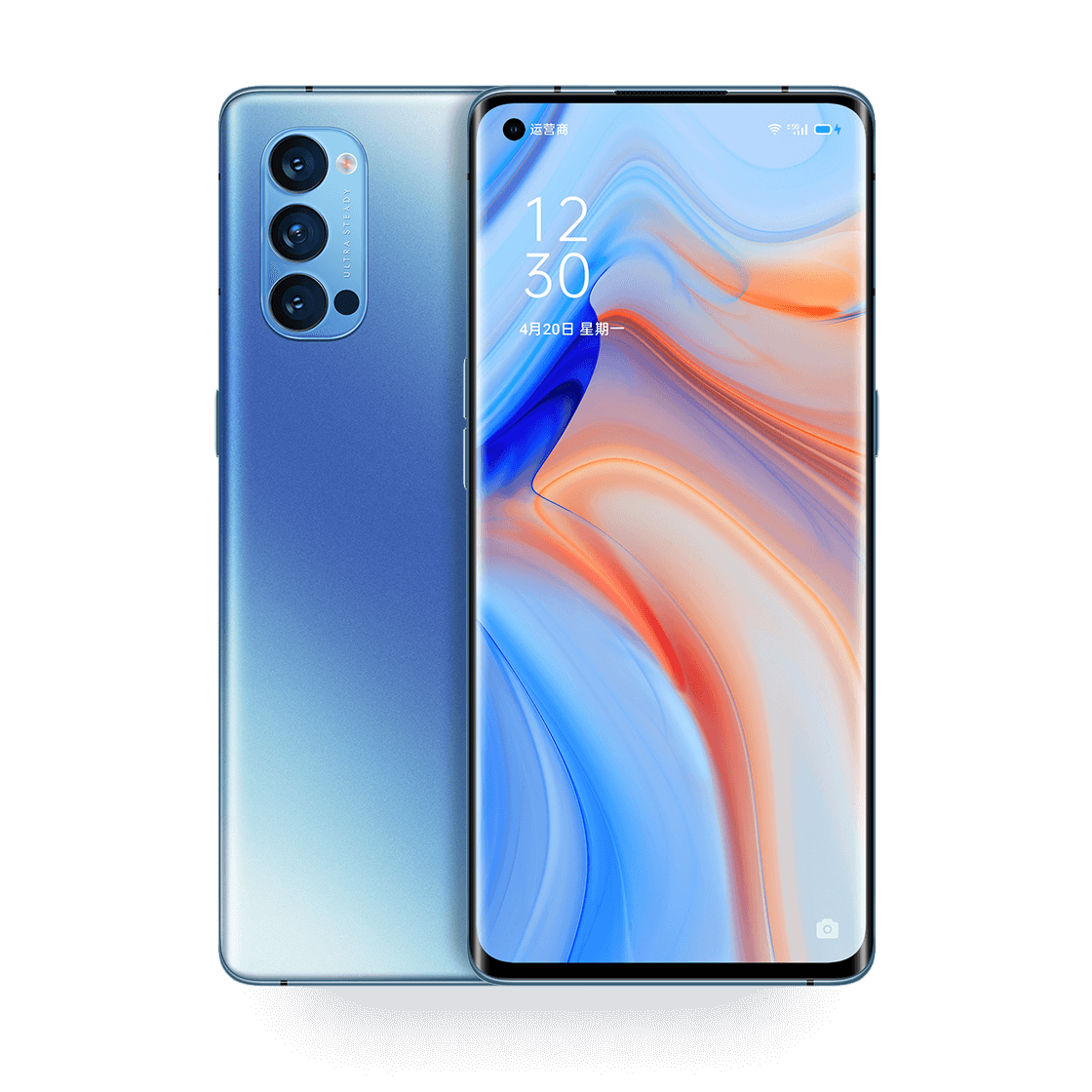 "OPPO Reno 4 Pro 5G / 6.5"" 402PPI / Snapdragon 765G / 16GB / 256GB + OPPO Watch 46mm => only till 20.10.20"