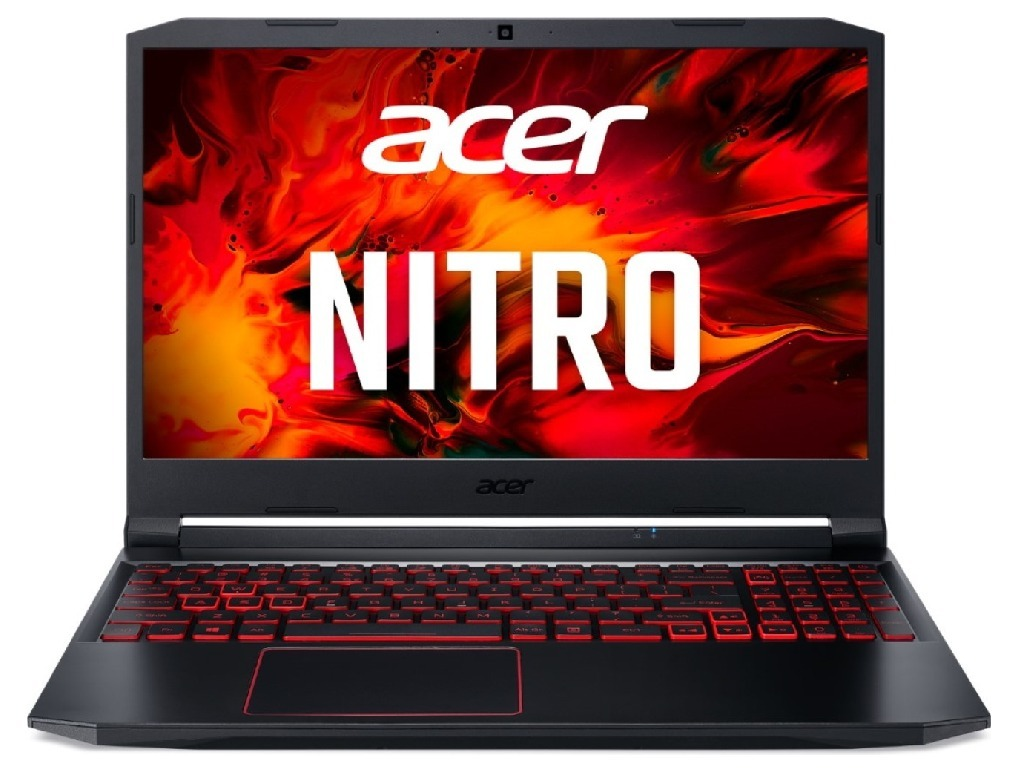 "ACER Nitro AN515-55-59XM / 15.6"" FullHD IPS 144Hz / Intel Core i5-10300H / 8GB DDR4 / 512GB NVMe / GeForce GTX 1650Ti 4GB GDDR6 / Linux / NH.Q7JEU.00B / Black"