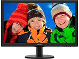 "Monitor Philips 243V5LHAB / 23.6"" FullHD / 5ms / 250cd / LED10M:1 / Speaker 2x2W"