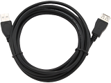 Cable Gembird CCP-USB2-AMAF-10 / Black
