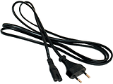 Cable Cord  Gembird PC-184/2 / 1.8m / Black