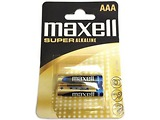 Battery MAXELL Super Alcaline LR03 / AAA / 2pcs