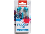 Maxell Earphones Plugz White / Pink / Black / Blue
