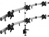 "Vision Mounts VM-MP260C Arm for 6 monitors 15""-24"" Black"