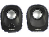 Speakers Sven 330 / 2.0 / 5W / Black