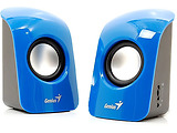 Speakers Genius SP-U115 / 1.5W / Blue / White