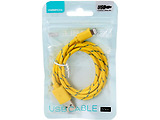 Cable Omega Lightning USB2.0 / Yellow
