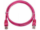 Cablexpert Patch Cord Cat.6, 0.25m Pink / Purple
