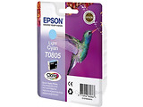 Cartridge Epson T080 / Black / Light Cyan