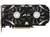 VGA MSI GeForce GTX 1050Ti 4GT OC / 4GB DDR5 / 128Bit / Military Class 4