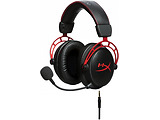 Headset Kingston HyperX Cloud Alpha / HX-HSCA-RD/EE / Red