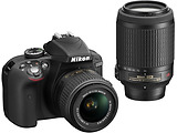 Camera Nikon D3300 Double kit / 18-55VR + 55-200VR / VBA390K003 /