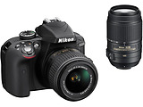 Camera Nikon D3300 Double kit / 18-55VR + 55-300VR / VBA390K010 /