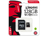 microSDHC Kingston Canvas Select 128GB / SD adapter / 400x / SDCS/128GB