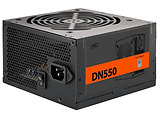 PSU Deepcool DN550 / 550W / ATX 2.31 / 80 PLUS / Active PFC / 120mm fan with PWM / XDC-DN550 / Black