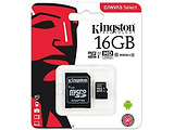 microSDHC Kingston 16GB / SD adapter / SDCS/16GB