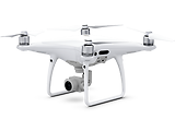 "DJI Phantom 4 Pro+ / Professional Drone / Obstacle Avoidance / RC with 5.5"" display / 20MP / 4K / White"