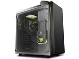 Case Deepcool XDC-BARONKASE LIQUID / ATX / Pre-installed AIO liquid cooler / 120mm RGB / Black