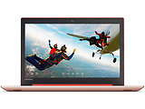 "Laptop Lenovo IdeaPad 320-15IAP / 15.6"" HD / Quad Core N4200 / 4GB / 1.0TB / Intel HD Graphics 620 / DOS / Red / Black"